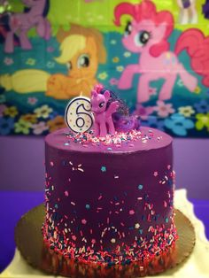 Twilight Sparkle Birthday Cake | Chichi Mary Kids Boutique