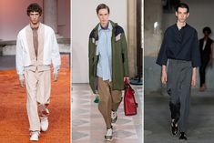 Moda de calzado masculino para la próxima primavera