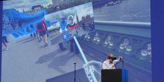 Oculus demos a VR selfie stick