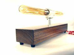 Table Lamp Desk Lighting Antique Edison Bulb by DLdesignworks