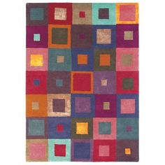 Stylish woollen rugs, perfect for a 7th wedding anniversary gift.