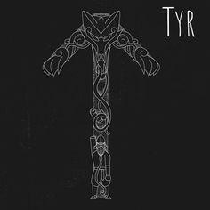Cool Symbols, Viking Symbols, Viking Art, Great Tattoos, Small Tattoos, Viking Tribal Tattoos, Thor, Norse Tattoo, Tattoo Bracelet