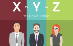 How to Manage Gen X, Y and Z in the Workplace [Infographic] - Hongkiat