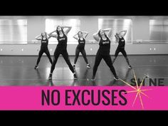 """""""No Excuses"""" By Meghan Trainor. SHiNE DANCE FITNESS - YouTube"""