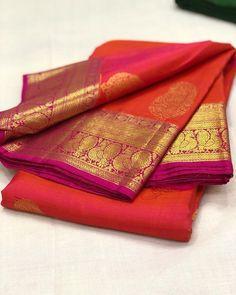 Cutwork Blouse Designs, Pattu Saree Blouse Designs, Bridal Blouse Designs, Kanjivaram Sarees Silk, Kanchipuram Saree, Pure Silk Sarees, Indian Bridal Sarees, Wedding Silk Saree, Pink Saree Silk