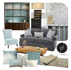 Grey Living Room With Blue Accents orange #grey living room lounge | living room re-vamp | pinterest