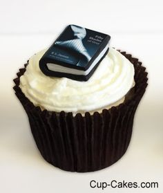 50 Shades of Grey Cupcakes.