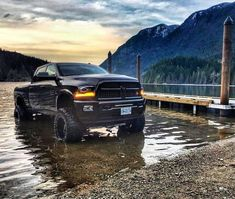 Badass shot! Tag the owner if you know who's truck this is!  #Scenic #AlligatorPerformance #AlligatorNation