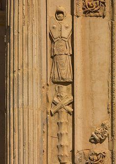 Roman soldier - Leptis Magna, Libya