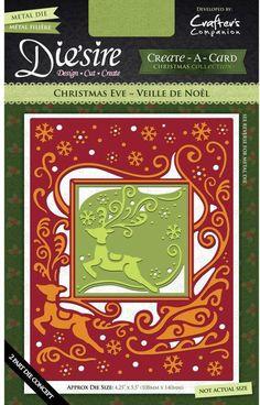 Die'sire Create-A-Card Christmas Dies - Christmas Eve
