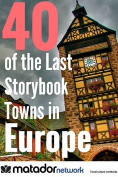 40 of the last storybook towns left in Europe, TRAVEL, From Castiglion Fiorentino, Italy to Meissen, Germany. Discover 40 storybook towns in Europe. Make Europe your next travel destination and discover th. European Vacation, European Travel, Travel Abroad, Travel Tips, Travel Europe, Europe Europe, Germany Travel, Travel Hacks, Europe Places