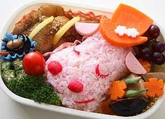 Super Cute Japanese Sushi Color Bento Ideas