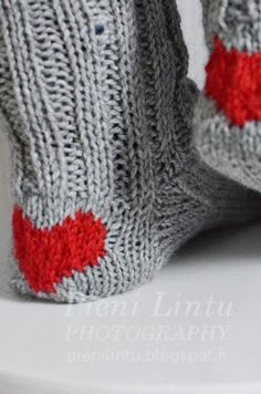 Socks with heart