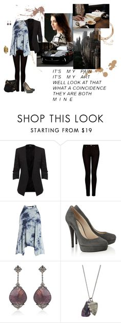 """""""not who i was before"""" by eloise-monique-dufour on Polyvore featuring MANGO, Sans Souci, KORS Michael Kors, Bochic, OBEY Clothing and Marc by Marc Jacobs"""