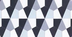 Hexagonal-large encaustic tiles Wall in  Edinburgh