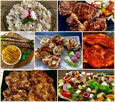 Odrywany chlebek z czosnkiem i ziołami - Blog z apetytem Aga, Tandoori Chicken, Chicken Wings, Grilling, Food And Drink, Cooking Recipes, Ethnic Recipes, Impreza, Blog