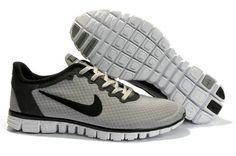 I4CLJgrb Nike Free 3.0 V2 Grey Black Women Shoes