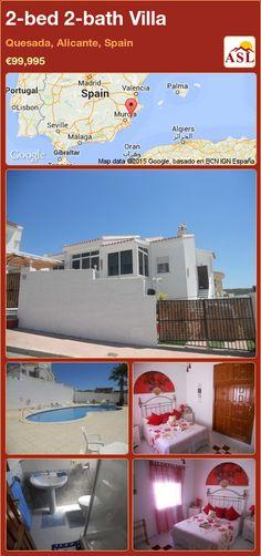 2-bed 2-bath Villa in Quesada, Alicante, Spain ►€99,995 #PropertyForSaleInSpain