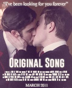 Klaine movie poster