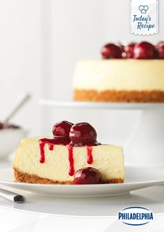 There's a reason the true classics never go out of style. Enjoy the 'Casablanca' of desserts with this delicious recipe for Philly Classic Cherry Cheesecake.