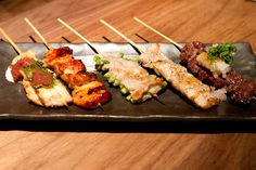 "Zakkushi (Carlton and Ontario) - Another new izakaya entrant with a focus on proper grilled skewers - i.e. they have chicken skin, heart, etc etc that imho a ""proper"" izakaya (居酒屋) should have.  I tried it and although a bit pricey it wasn't bad..."