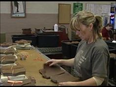 Chippewa Boots Factory Tour Video - USA Made http://www.countryoutfitter.com/chippewa