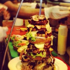 Super Duper Burger @ Kozi's Meet & Eat.  Good god have mercy! :D