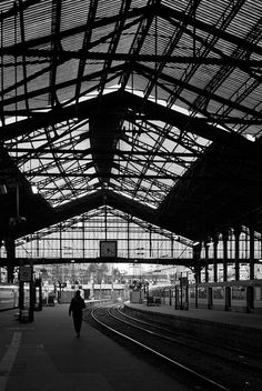 Gare St Lazare @ Paris. This is the train station I regularly used to get to and from the Paris suburbs where I lived. Once in Paris, the wonderful subway system took you anywhere you needed to go.