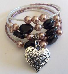 Handmade Bracelet Brand New In Organza Bag Ladies Womens Gift Jewelly Dress Up