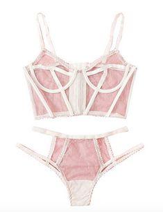 Lingerie Set, Fashion Brands, Bikinis, Swimwear, Topshop, Bodysuit, Nude, Sexy, Pink