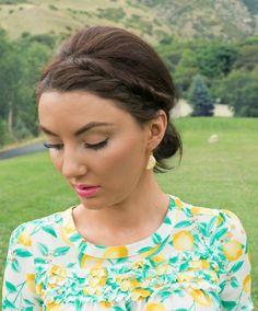 Kate Spade New York lemon earrings