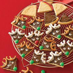 Reindeer Sugar Cookies for Santa