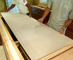 DIY - how to install a solid surface countertop
