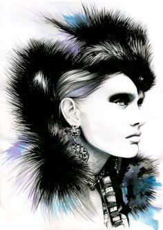 Sketch by Caroline Andrieu