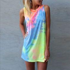 Cute Tye Dyed Dress