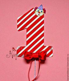 Праздничная атрибутика ручной работы. Ярмарка Мастеров - ручная работа. Купить Цифра на день рождения. Handmade. День рождения
