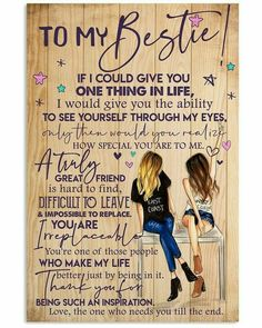 Happy Birthday Best Friend Quotes, Best Friend Gifts, To My Best Friend, Girl Best Friend Quotes, Happy Birthday Bestie, Friend Poems, Best Friends For Life, Good Friends Are Like Stars, Msg For Friends