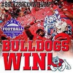 Back 2 Back Champions 12/7/2013