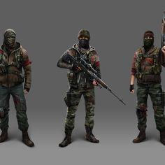 Concept art for Modern Combat 5: Blackout
