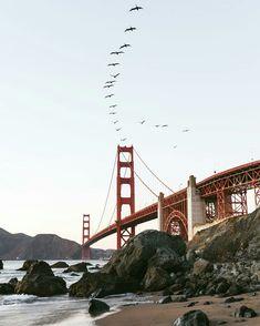 Marshalls Beach San Francisco by Oscar Wastaken