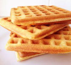 Receita de Waffle