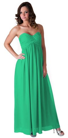 Green Strapless Sweetheart Long Chiffon Size:[14] Dress. Green Strapless Sweetheart Long Chiffon Size:[14] Dress on Tradesy Weddings (formerly Recycled Bride), the world's largest wedding marketplace. Price $74.99...Could You Get it For Less? Click Now to Find Out!