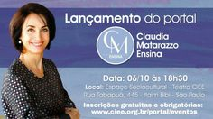 Lançamento portal de cursos online - Claudia... | GAROTA EMPREENDE
