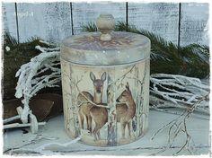"""Купить """"Лесная сказка"""".Короб деревянный. - бежевый, коробочка для подарка, короб для сладостей, короб для хранения"""