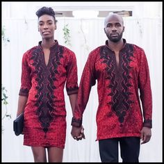 TRADITIONAL AFRICAN COUPLE matching outfit by AFRICANISEDSHOP, £75.00