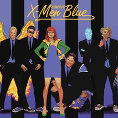 X-MEN BLUE #11 ACUNA ROCK N ROLL VARIANT MARVEL COMICS