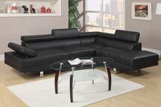 1 #1 Seller Black Faux Leather Sofa – @ Home Furnishings Of Florida | Orlando Furniture Dealer| A DHP Contractors LLC Company | 407.636.3599 Hablamos Espanol: 407.636.3537 (www.athomefurnishingfl.com)