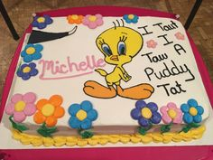 Tweety Bird Cake 🐤