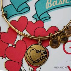 """Alex and Ani's new """"Whole Heart"""" bangle to benefit the American Heart Association!"""