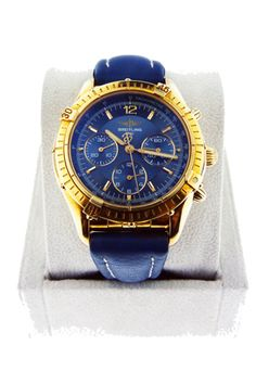 Breitling Chronomat 18kt Yellow Gold Watch